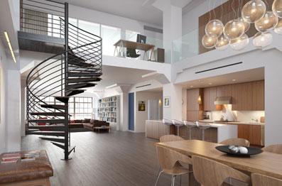 appartements duplex